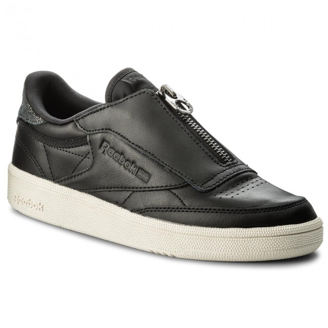 M Zip Club Reebok chalk Cn0140 C 85 Black Chaussures pSqMVGLUz