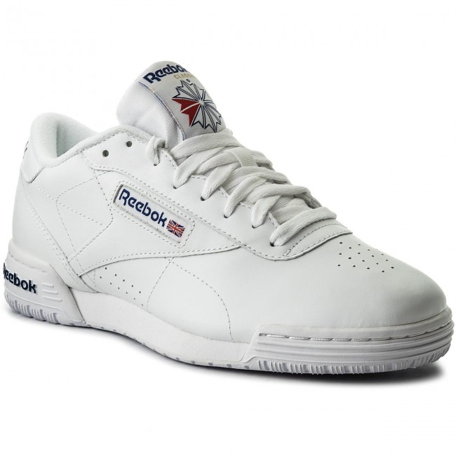 Reebok Shoes Men's EXOFIT LO CLEAN LOGO INT in WhiteRoyal