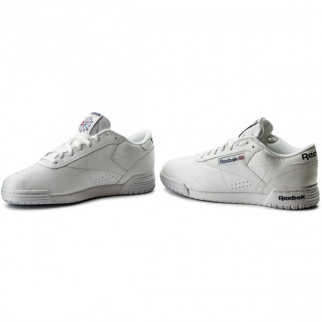 Chaussures Reebok Exofit Lo Clean Logo Int AR3169 Int WhiteRoyal Blue