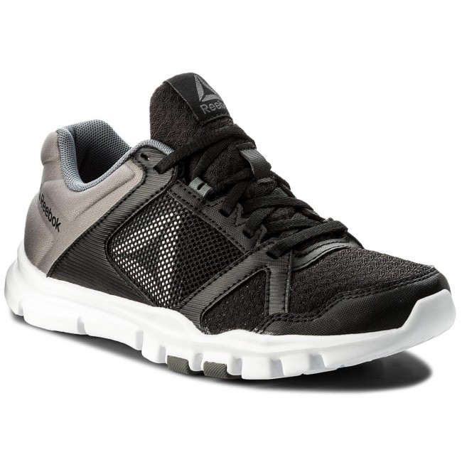 Bs9884 Train 10 Reebok Mt Chaussures Yourflex Blackwhitealloy BCroxed