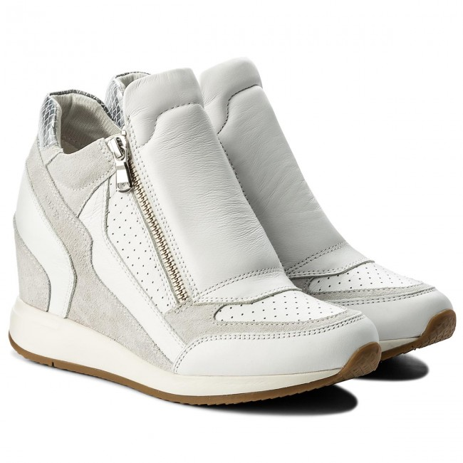 Sneakers GEOX D Nydame A D620QA 08522 C1352 WhiteOff White