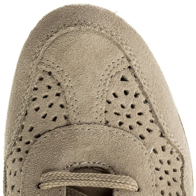 00022 Geox D Taupe Illusion B beige Ch65a D8254b Sneakers Lt ZuPXki