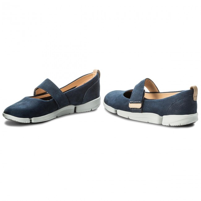 Basses Clarks Chaussures Nubuck Carrie Navy Tri 261311084 Ny8Onwvm0P