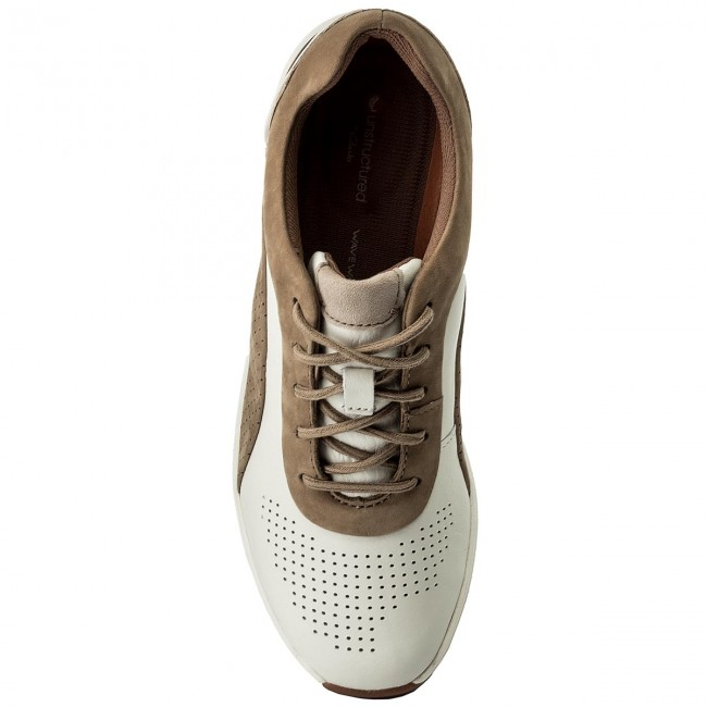 Cruise Lace Sneakers 261326714 White Combi Clarks Un dCeWErQxBo