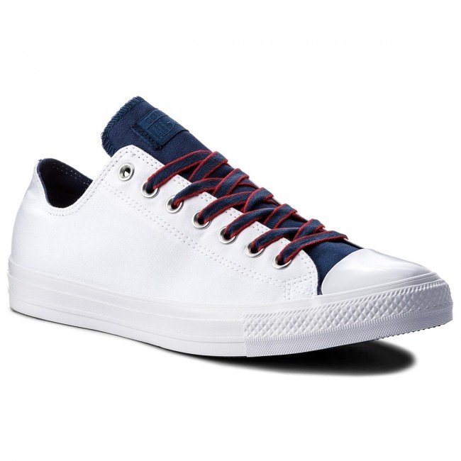 Chaussures basses Ctas Ox 160467C White Navy Gym Red