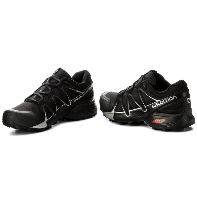 site réputé 7f1db 24633 Chaussures SALOMON - Speedcross Vario 2 402390 27 V0 Black/Black/Silver  Metallic-X