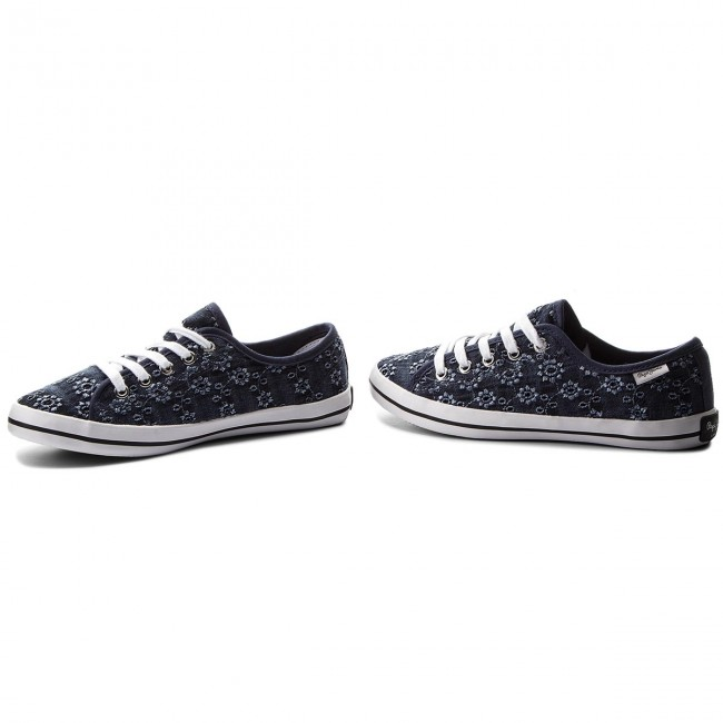 Tennis PEPE JEANS Gery Anglaise PLS30661 Navy Blue 575