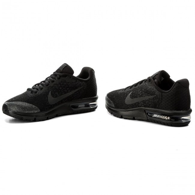 Chaussures NIKE Air Max Sequent 2 (GS) 869993 009 BlackBlackAnthracite