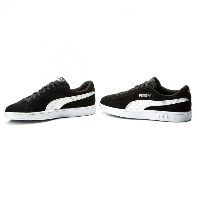 Puma Baskets Smash V2 364989 01 Black Puma White Puma