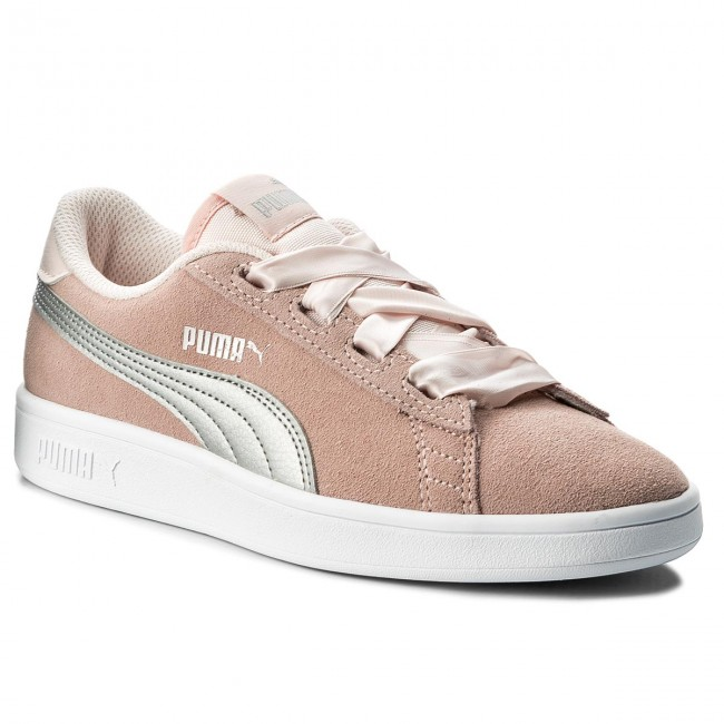 Sneakers PUMA Smash V2 Ribbon Jr 366003 02 PearlPuma Silver