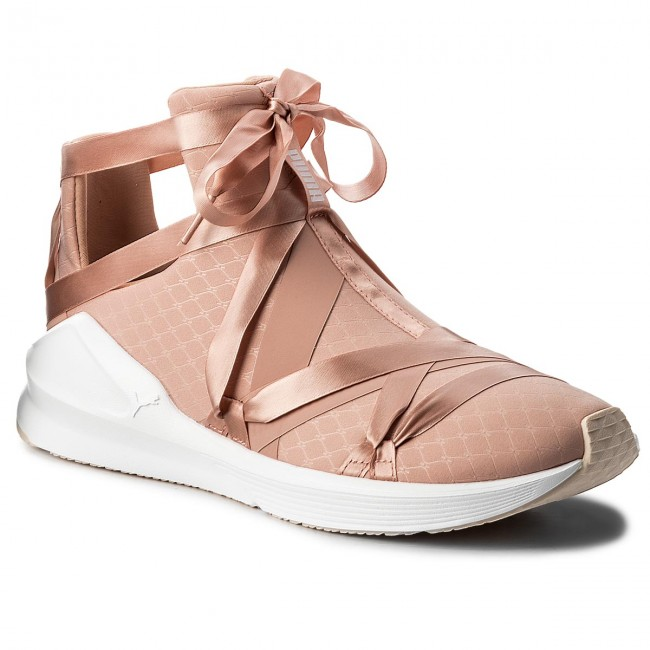 Shoes PUMA Fierce Rope Satin EP Wn's 190538 01 Peach BeigePuma WhitePearl
