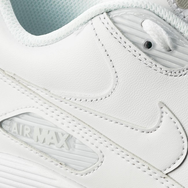Chaussures NIKE Air Max 90 Leather 302519 113 True White