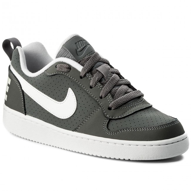 Chaussures NIKE Court Borough Low (GS) 839985 002 Cool GreyWhite