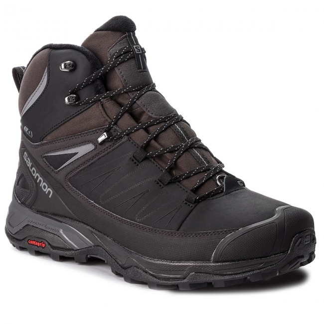 De Black Ultra X 31 V0 Shade 404795 Winter Cs Mid Chaussures Salomon phantom quiet Trekking Wp RLq35Aj4