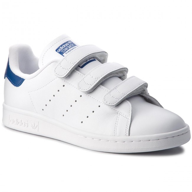 design intemporel 37eaa bc340 Chaussures adidas - Stan Smith Cf S80042 Ftwwht/Ftwwht/Croyal