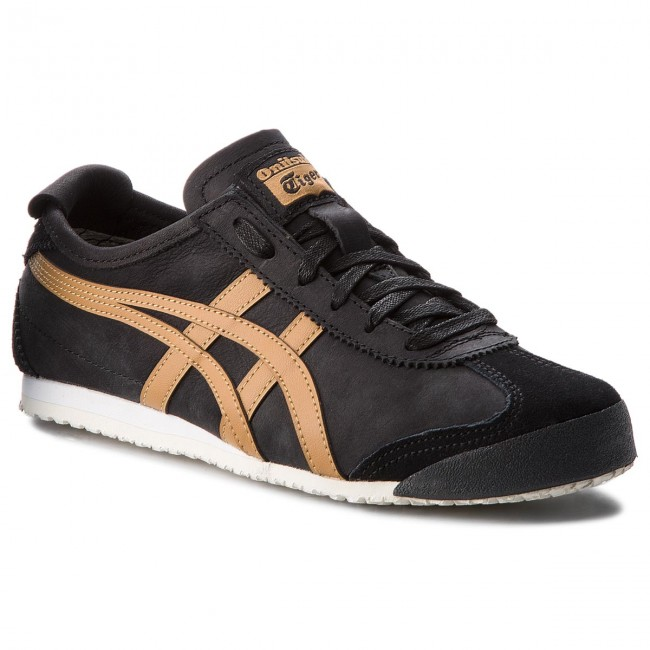 8e7e2cce6c84 Sneakers ASICS - ONITSUKA TIGER Mexico 66 1183A198 Black/Caravan 001 -  Sneakers - Chaussures basses - Femme - chaussures.fr