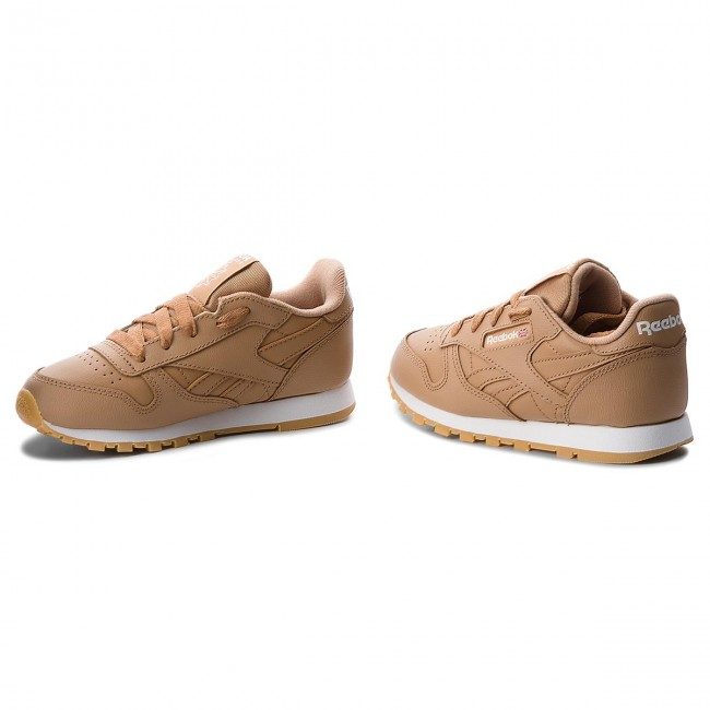 Reebok Camelwhite Chaussures Classic Cn5611 Soft Leather VpqUSzM