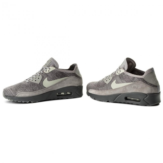 Chaussures NIKE Air Max 90 Ultra 2.0 Flyknit 875943 007 Atmosphere GreyLight Bone