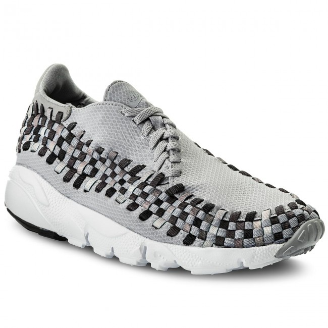 Chaussures NIKE Air Footscape Woven Nm 875797 004 Wolf GreyBlackDark Grey