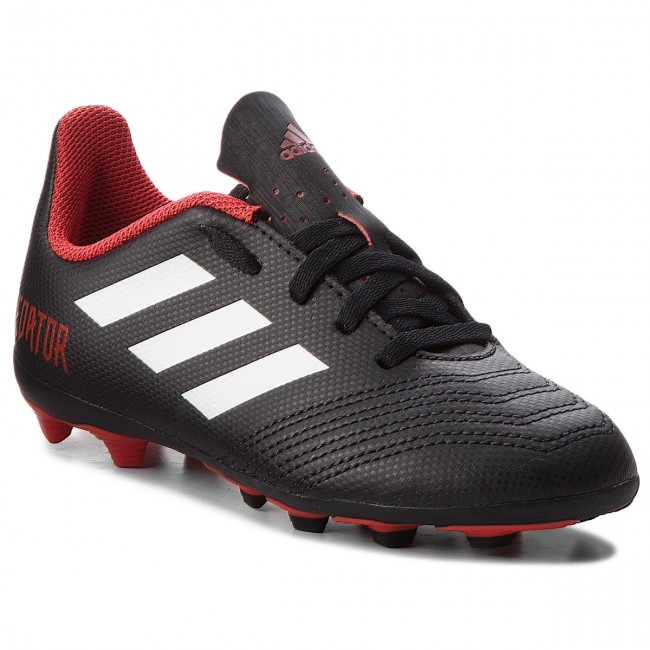 aliexpress online for sale good quality Chaussures adidas - Predator 18.4 Fxg J DB2323 Cblack/Ftwwht/Red ...