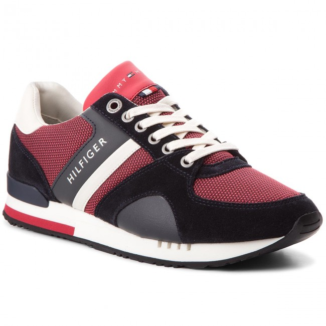 Hilfiger Tommy Sporty Sneakers Runner Fm0fm01655 New Iconic Rwb CderxBoW