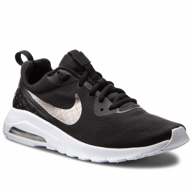Chaussures NIKE Air Max Motion Lw (GS) 917650 005 BlackMtlc Pewter White