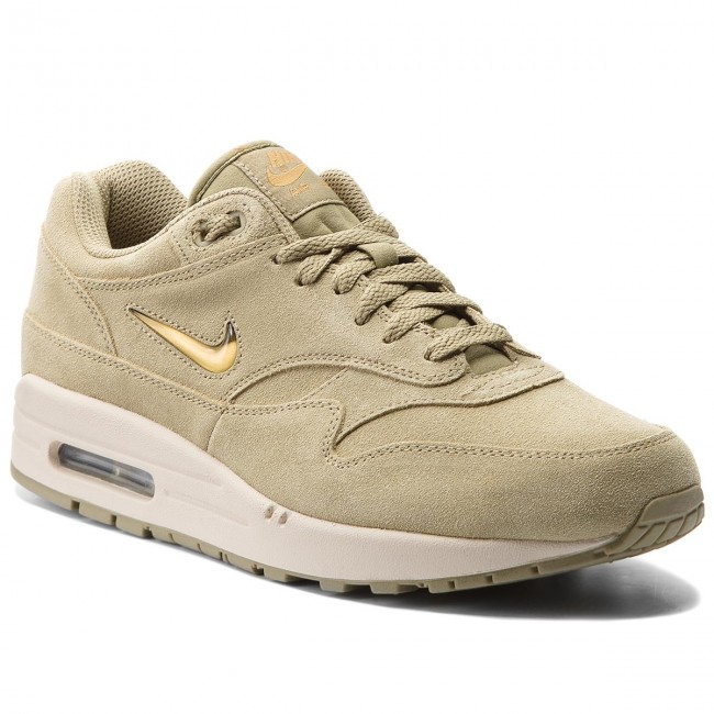 Chaussures NIKE Air Max 1 Premium Sc 918354 201 Neutral OliveMetallic Gold