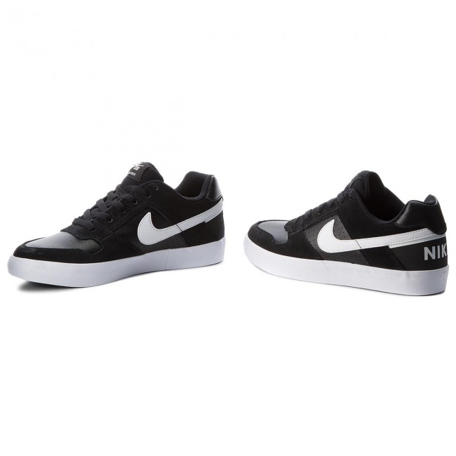 Chaussures NIKE - Sb Delta Force Vulc 942237 010 Black/White/Anthracite/White - Sneakers - Chaussures basses - Homme
