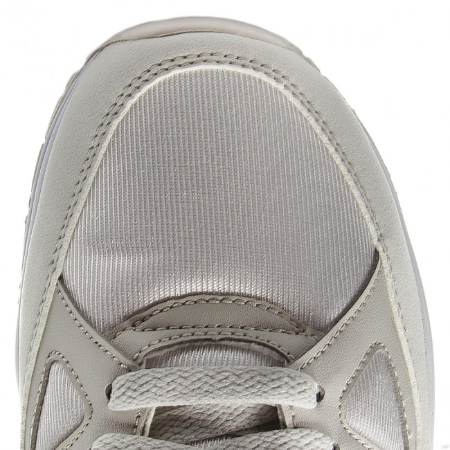 Chaussures NIKE - Air Span II AH8047 100 Summit White/Light Bone/White - Sneakers - Chaussures basses - Homme