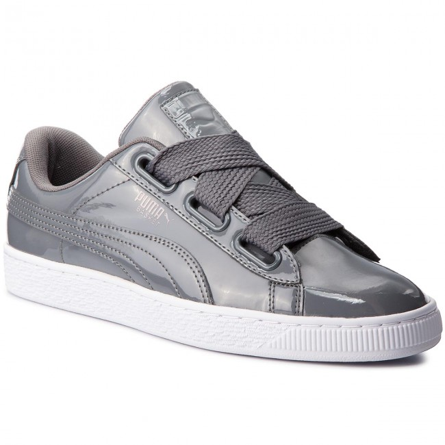 Sneakers PUMA Basket Heart Patent Wn's 363073 17 Iron GateIron Gate