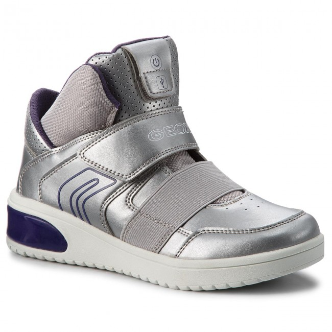 detailed look great quality sale usa online Xled C1284 Geox Silverviolet Sneakers J848da 000nf J D GA ...