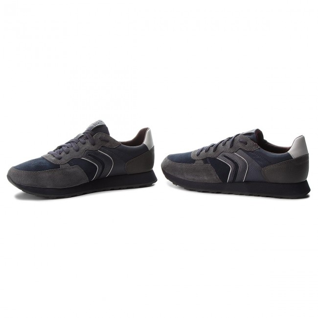 Geox VINCIT - Baskets basses anthracite/navy