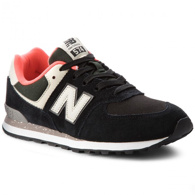 1ed81111c266 Sneakers NEW BALANCE - GC574HA Bleu marine - Sneakers - Chaussures basses -  Femme - chaussures.fr