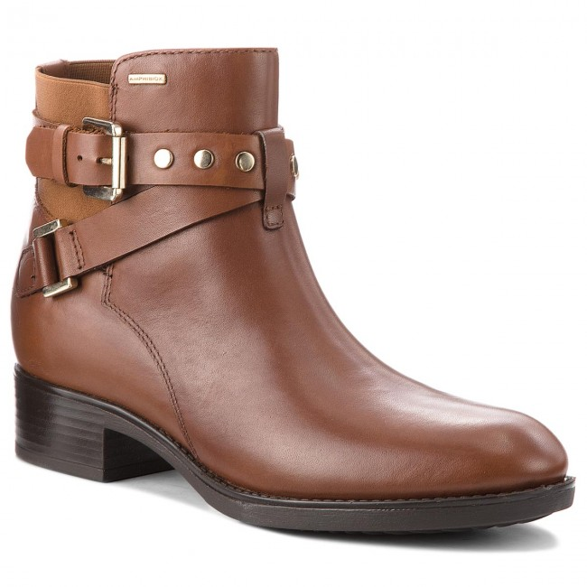Bottines GEOX D Felicity Np Abx B D84BLB 00043 C0013 Brown