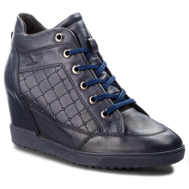Sneakers GEOX D Carum C D84ASC 08554 C4002 Navy