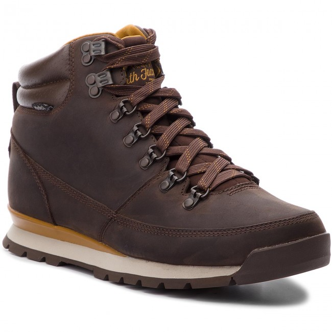 Chaussures de trekking THE NORTH FACE Back To Berkeley Redux Leather T0CDL05SH Chocolate BrownGolden Brown