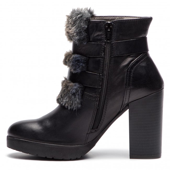 Bottines 1011 1069 Black 55931 dark Grey Bugatti 411 lJcTKF1