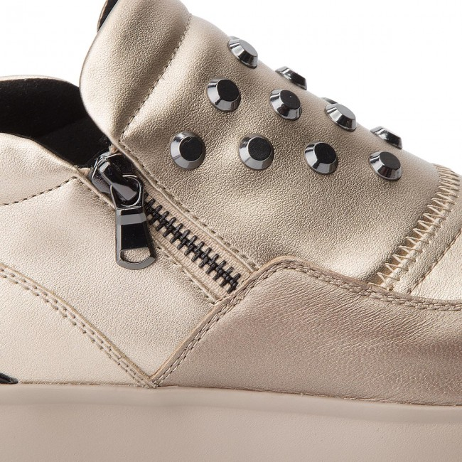 Sneakers GEOX D Gendry A D745TA 0BVNF CB500 Champagne