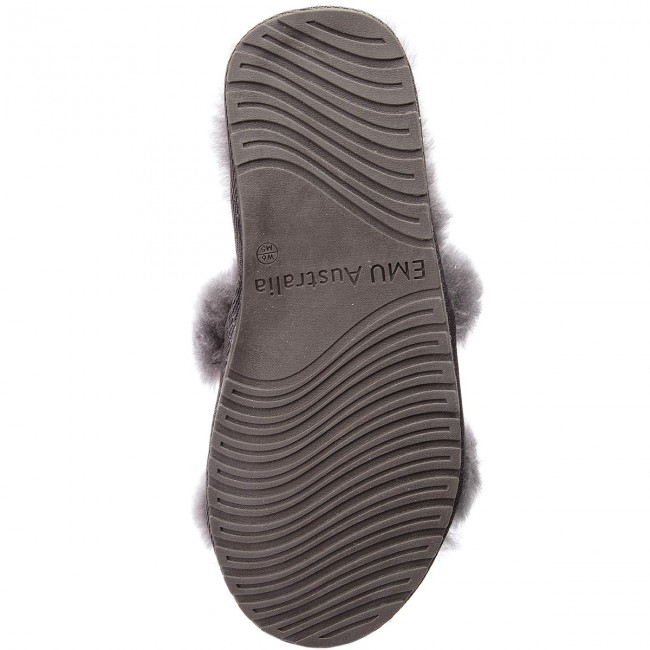 Emu Australia Wrenlette Chaussons Charcoal W11634 anthracite nwOk0PX8