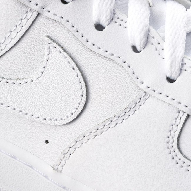 Chaussures NIKE Air Force 1 (Gs) 314192 117 WhiteWhiteWhite