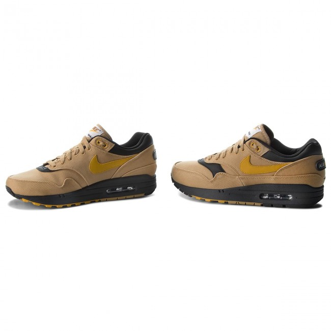 Chaussures NIKE Air Max 1 Premium 875844 700 Elemental GoldMineral Yellow