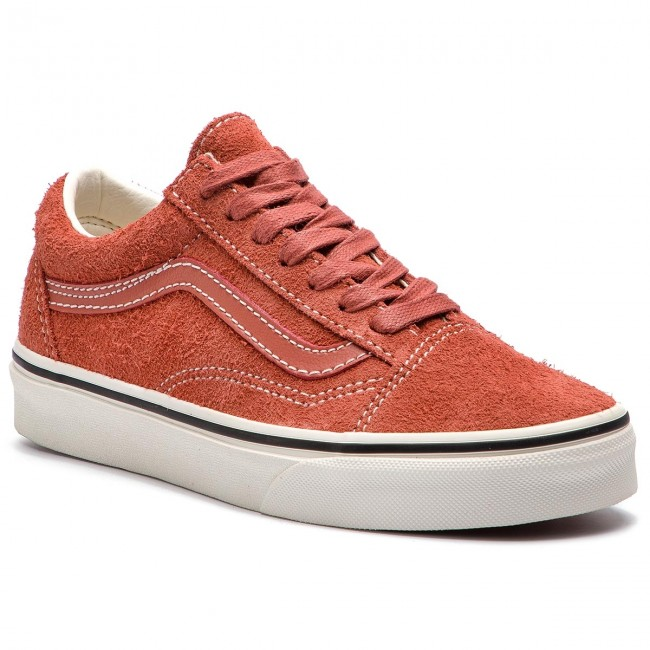 vans femme old skool orange