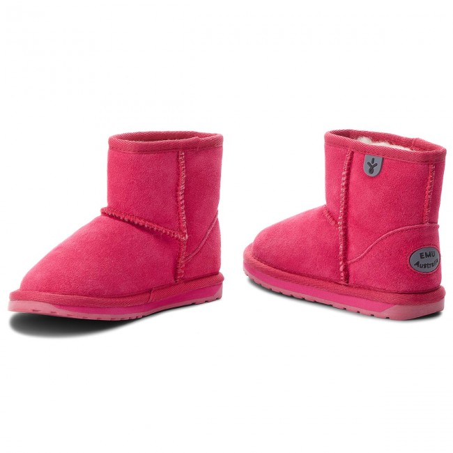 Emu Chaussures Australia Fuschia K10103 Mini Wallaby T1lJcFK