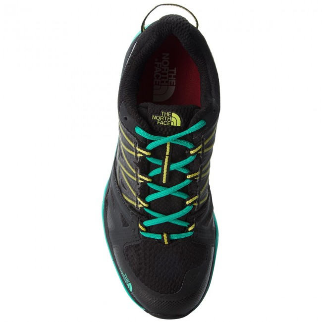 Chaussures De Trekking The North Face Hedgehog Fastpack Lite Ii Gtx Gore-tex T92ux64fx Tnf Black/pool Green