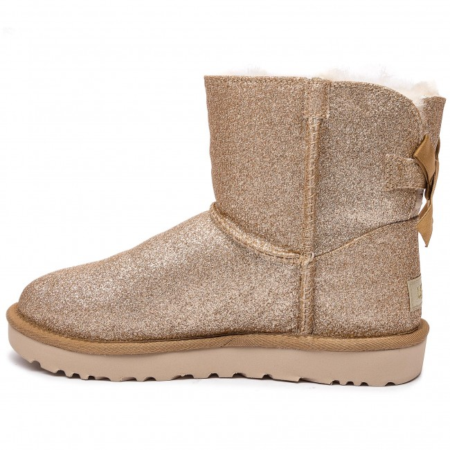 gold Bailey Ugg Chaussures W Mini W Bow Sparkle 1100053 SUpzMV