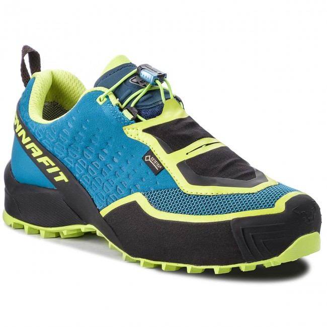 Chaussures DYNAFIT Speed Mtn Gtx GORE TEX 64036 Mykonos BlueLime Punch 8765