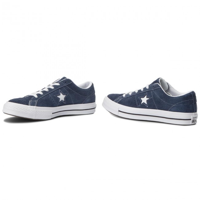 Converse white white One Ox Star Tennis 158371c Navy uiXPwkTOZl