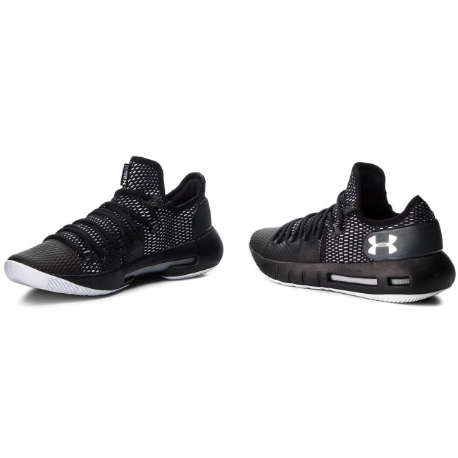 Chaussures UNDER ARMOUR - Ua Hovr Havoc Low 3020618-001 Blk - Basketball - Chaussures de sport - Homme
