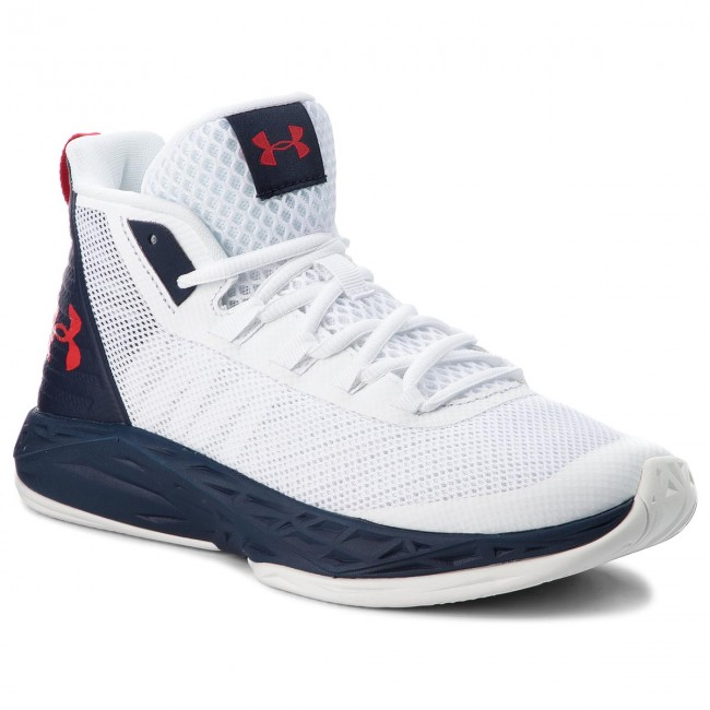 Chaussures UNDER ARMOUR Ua Jet Mid 3020623 102 Wht