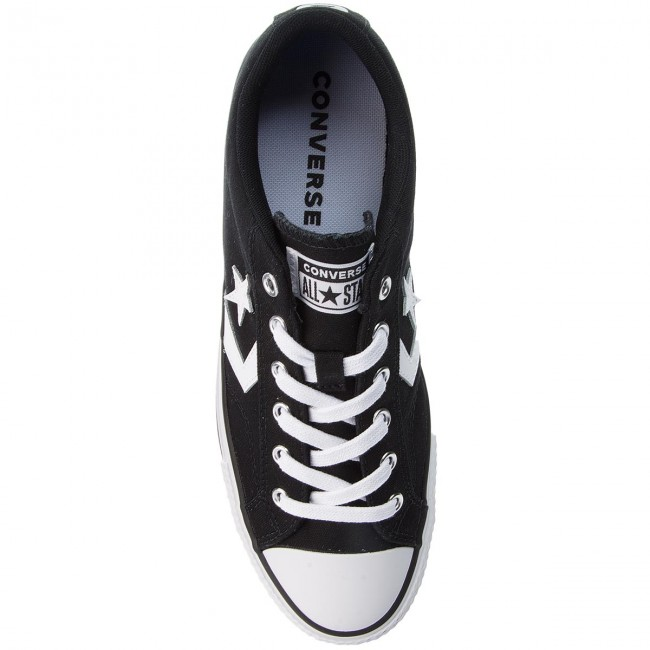 Sneakers Converse - Star Player Ox 161595c Black/white/white Baskets Chaussures Basses Homme